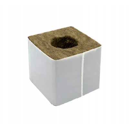 Kamena vuna - 7,5 x 7,5 x 6,5 cm - veća rupa