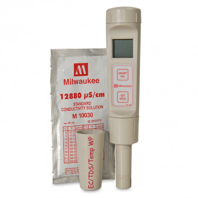 Milwaukee EC60 PRO Pocket Size EC / TDS / Temp Meter